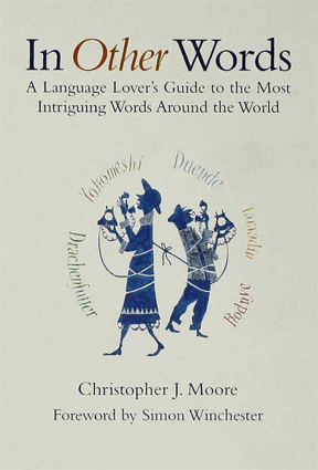 book cover, In Other Words, Christopher J. Moore author