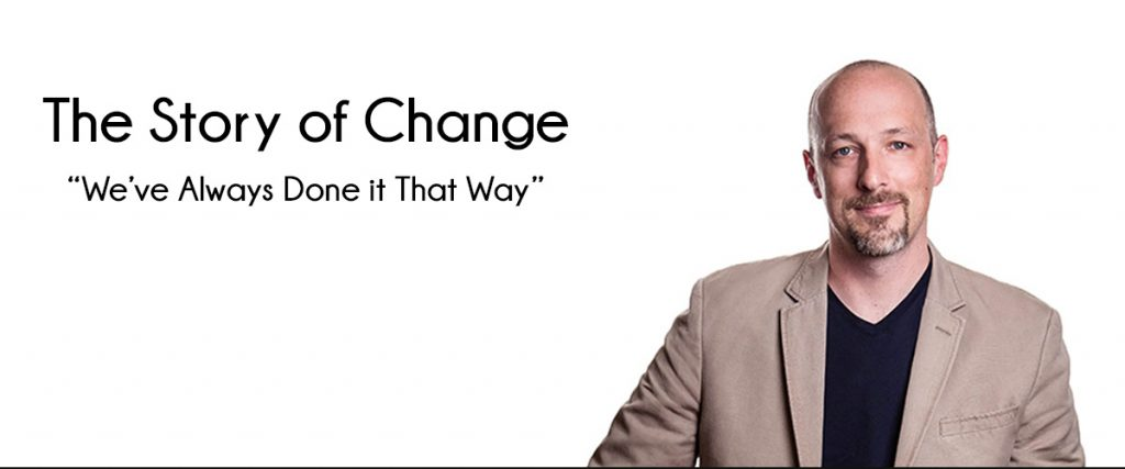 Jamie Notter, successful book author and public speaker, the story of change