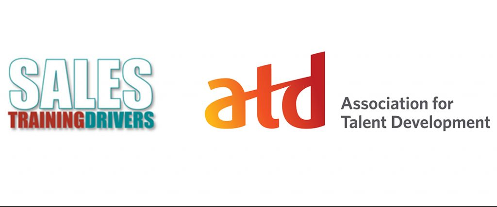 logos of sales training drivers and association for training and development atd
