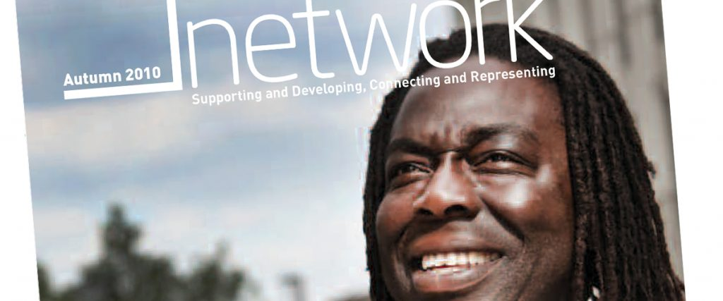acevo, UK-based organization for executives in charitable organizations, cover page of its magazine