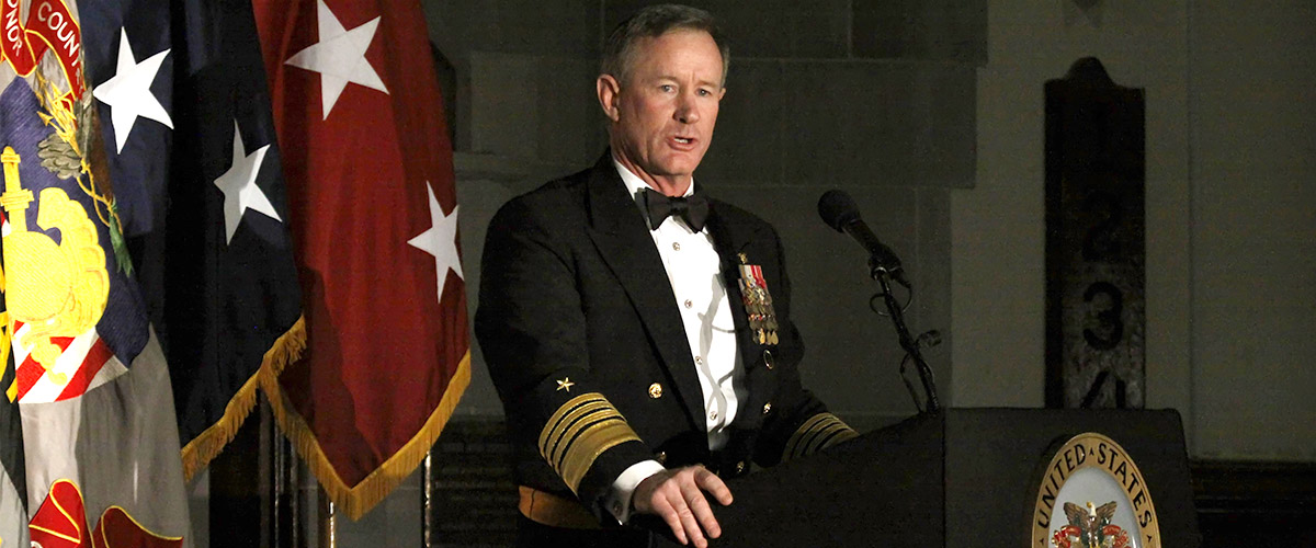 admiral william mcraven delivering inspiring speech to west point class of 2015 on 500th night, future officers of US Army