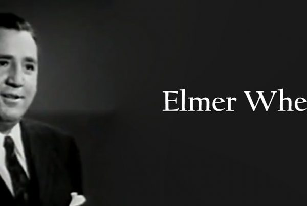 "elmer wheeler, screen capture from the 1947 movie, ""Man to Man,"""