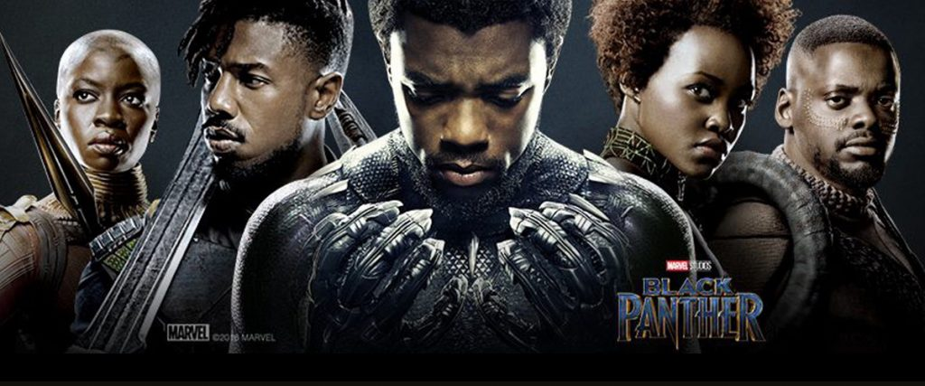 black panther movie poster from marvel