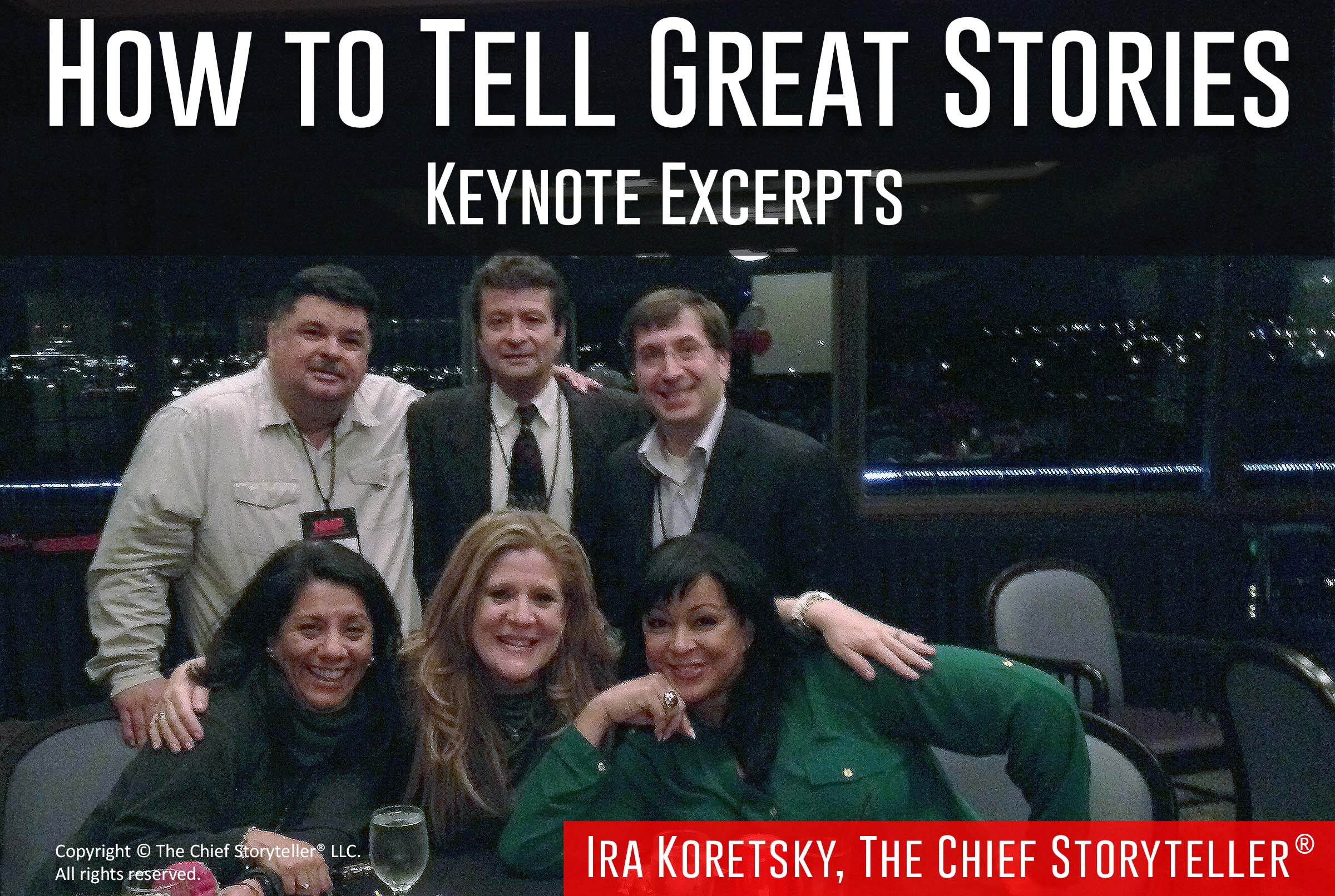 How to Tell Great Stories
