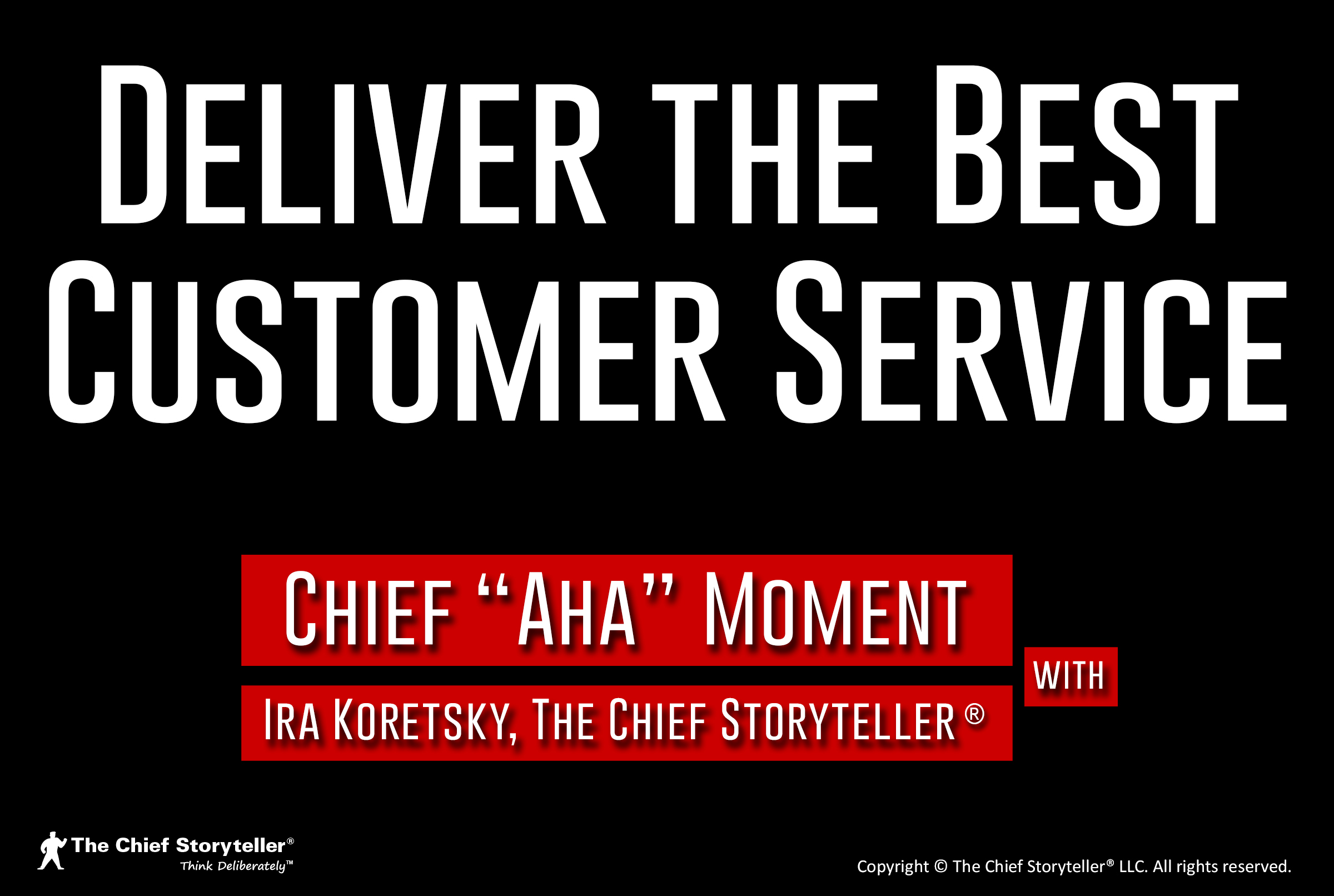Deliver the Best Customer Service
