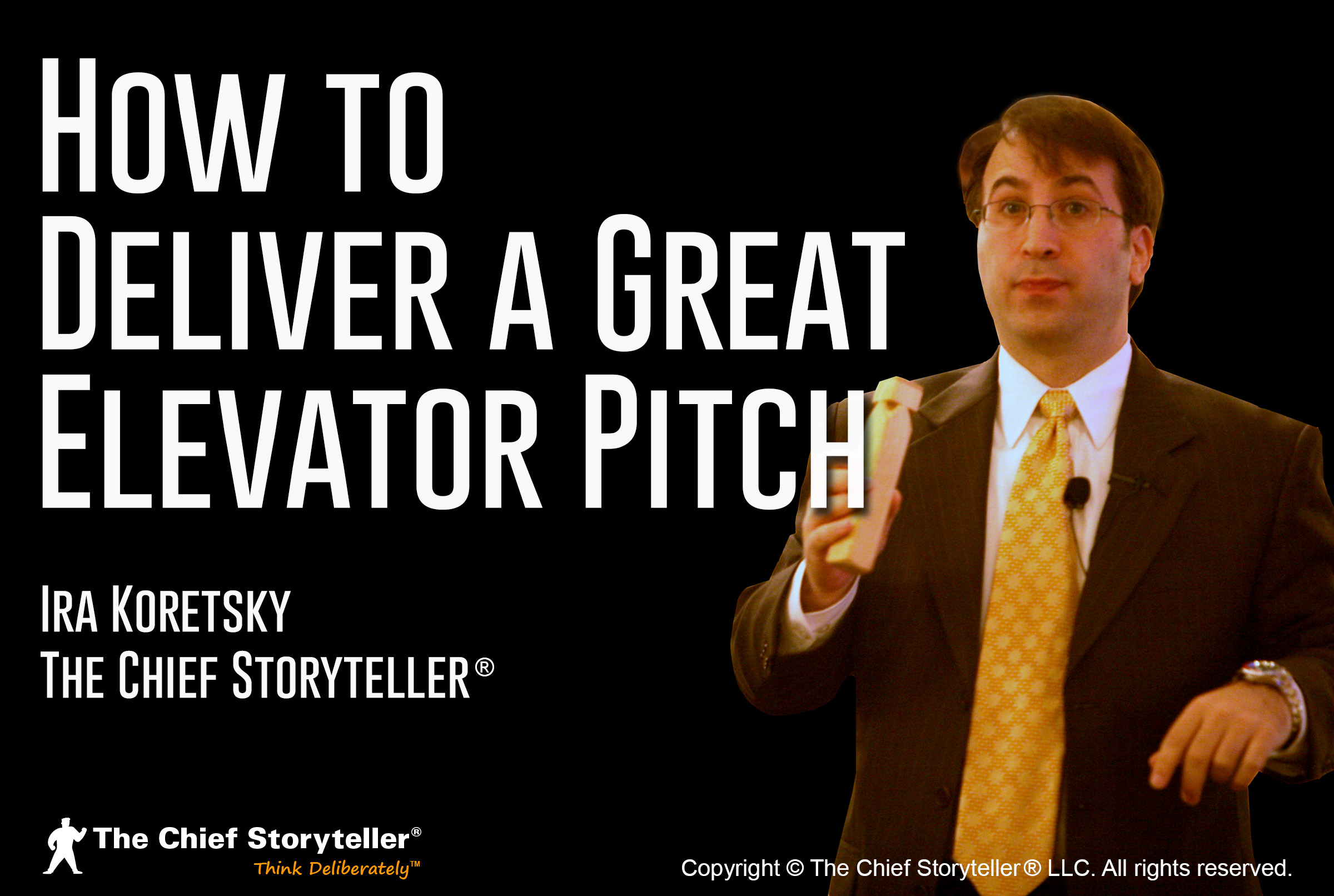 Deliver a Great Elevator Pitch