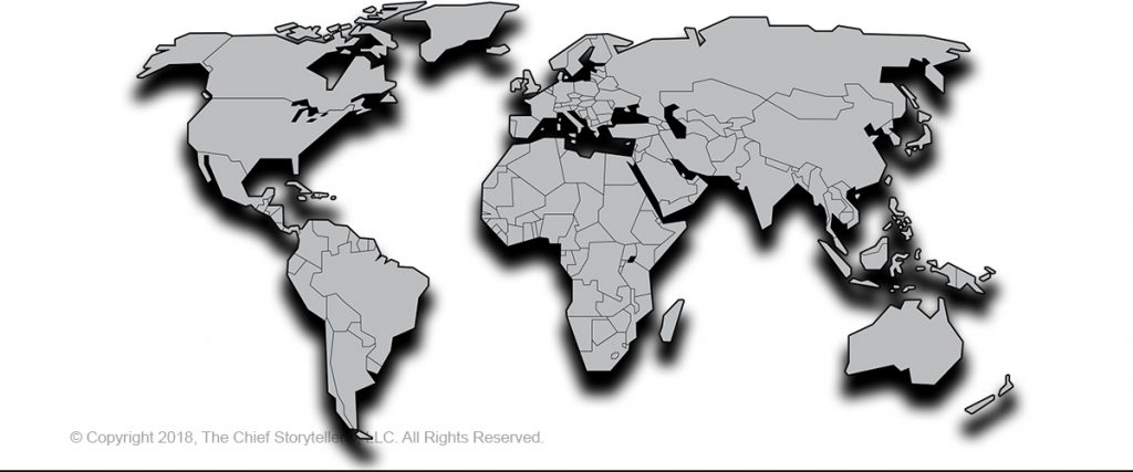 world map, white background, with gray map of countries to globalize your website