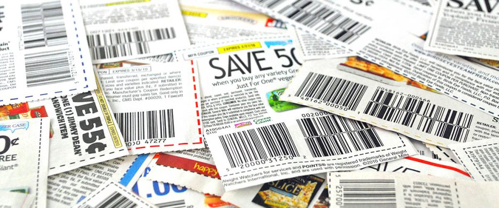 coupon coupons stacked on top of each other - retail - all about loyalty
