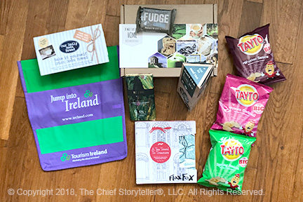 st patrick's day 2018 with Northern Ireland Bureau, Invest Northern Ireland, Tourism Ireland