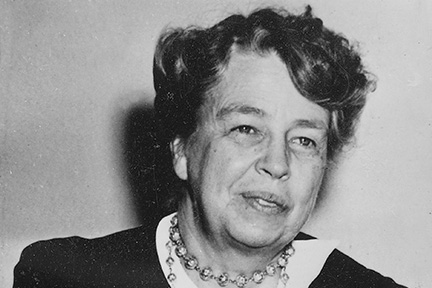 picture of eleanor roosevelt for international womens day