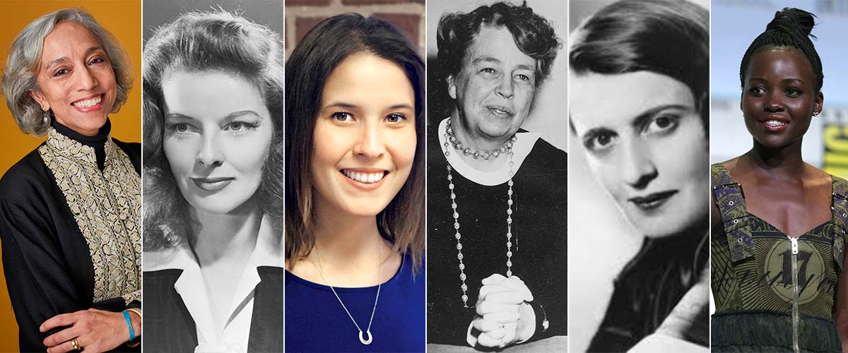 picture of six women who share thought provoking insights for international womens day