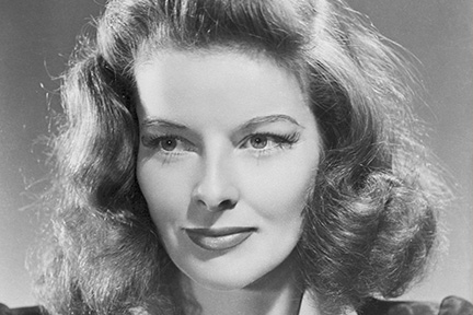 picture of katherine hepburn for international womens day