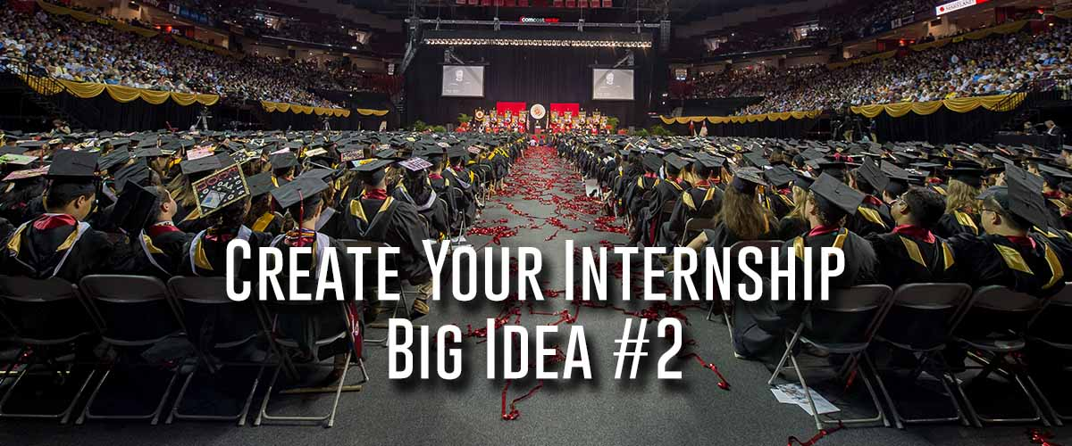university of maryland graduation from 2014 - student create your internship