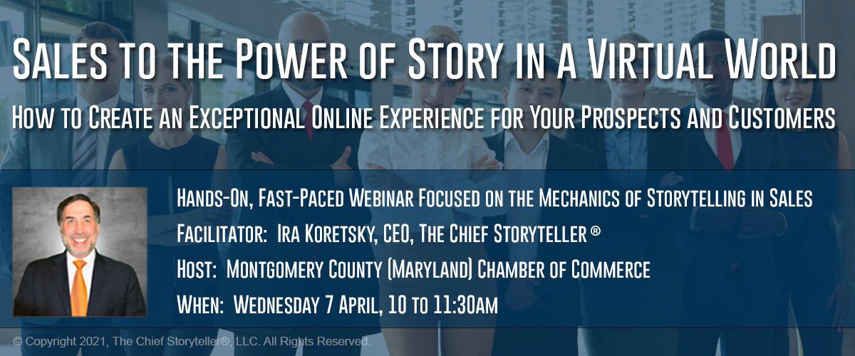 ira koretsky photo, background image of executive team, description, topic of mechanics of storytelling in sales